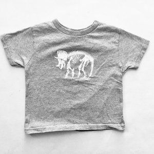 Other - Grey Triceratops T-Shirt